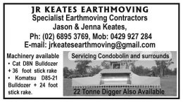 JR KEATS EARTHMOVING