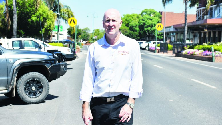 Paul Lenon the Manager of Hillston Branch, the parent Branch for Condobolin, is urging people to contact him on 0407 255 421 to find out more about the Bendigo Bank Branch in Condobolin. Image Credit: Melissa Blewitt.