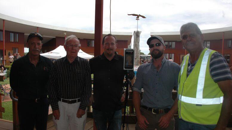 Bob Cooke, Noel Kitt, Andrew Kitt, Simon Start and Ally Coe. Image Credit: Kathy Parnaby.