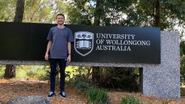 Condobolin's Kerrod Griffiths, a Wiradjuri Scholarship winner, overcame a 'steep learning curve' to achieve his University dream. Image Contributed.