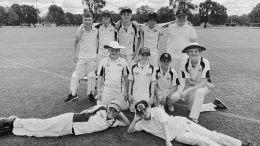 The Condobolin Under 12s Intertown Squad in November last year. Image Credit: Condobolin Junior Cricket Association Facebook Page.