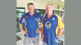 Bill Logan and Pete Brasnett were the overall winners of the Australia Day Bowls Competition at the Condobolin Sports Club. The major sponsors of the event were Moses and Sons along with Willowbend Sports Centre. Image Credit: Brayden Davis.