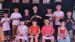 The Lachlan Children Services graduates who are attending St Joseph's Parish School Condobolin in 2021. Image Credit: Melissa Blewitt.