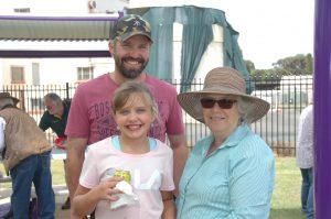 David Brangwin, Hailey Brangwin and Linda Brangwin