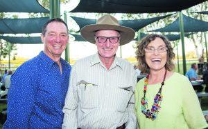 Steve Beattie, Robin Sanderson and Simone Beattie.  Image Credit: Kathy Parnaby.