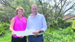 Minister for Water, Property and Housing Melinda Pavey and NSW Nationals Upper House MP, Sam Farraway announced over $2 million in funding for Crown Reserves across the Barwon Electorate. Condobolin is set to receive $71,035 for improvement projects. Image Contributed.