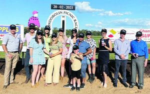 Inland Petroleum were the major sponsors of the Inland Petroleum Condobolin Picnic Cup. The company had a great time at the races. Image Credit: Inland Petroleum Facebook Page.