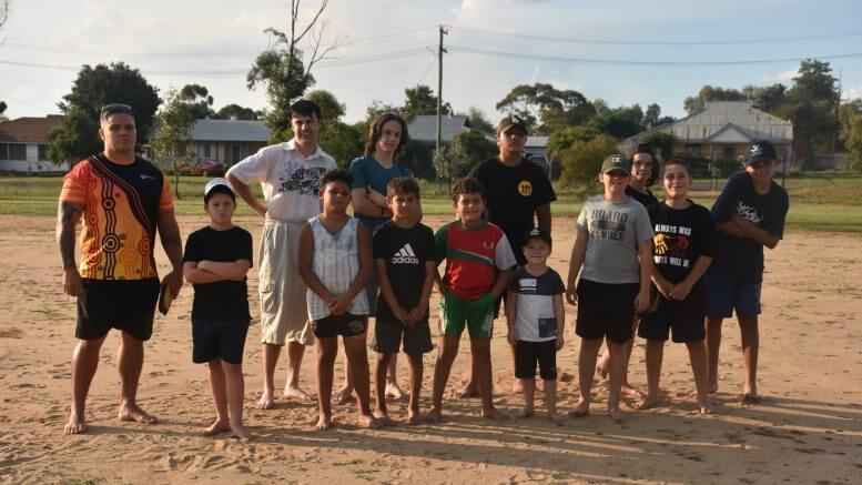 The Galari Bila Waga Dhaany's Aboriginal Youth Boys Dance Group will present to the community the Condo Corroboree on Saturday, 29 May at the Wiradjuri Condobolin Corporation from 6pm. Image Credit: Melissa Blewitt.