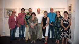 David Stowe, Adam Kerezsy, Warren Chad, Beverley Chad, Mal Carnegie, Karen Tooth, Rex Press, Sarah Cranney and Heather Blackley