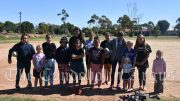 Renowned Wiradjuri dance teacher and choreographer, Jo Clancy visited Condobolin to conduct the first SkyFest: miima warrabinya dance workshop on Monday, 12 April. Image Credit: Melissa Blewitt.