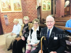Bev Anderson, Leanne Anderson, Jan and Barry Crouch.