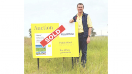 Ray White Condobolin Residential and Rural Sales Specialist Paddy Ward says the rural property market in the Condobolin district is booming. Image Credit: Ray White Condobolin Facebook Page.