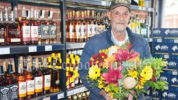 Imperial Hotel Owner Fred Vella showcased the Bottleshop that has been refurbished. on opening day. Image Credit: Melissa Blewitt.