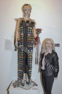 Terryll Cassidy won the annual Waste Theme Award for her entry ' Expressed Dress'.