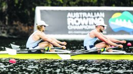 Condobolin's Harry Crouch was selected in the Australian U23 Rowing Team to compete in the 2021 World Rowing U23 Championships, which were to take place in Racice, Czech Republic. Unfortunately, Rowing Australia have announced due to COVID 19 they will not be sending the team to Racice and will instead compete at the World Rowing Cup 3 Simulation Regatta to be held in Adelaide 11 to 13 June 2021. He is pictured here with his doubles partner Torun Olsson at National Championships on Lake Barrington. Image Contributed.