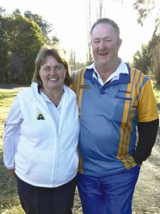 Marilyn and Darren Seton played with great style and skill at the Australian Open recentlyImage Credits: Contributed