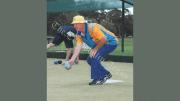 Dareen seton in action at the Condobolin Sports Club. Image Credits: Kathy Parnaby.