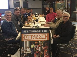 """Members from Condobolin and Lake Cargelligo SES Units met on Monday, 21 June attended a """"Better Together"""" event at the Condobolin RSL Club. Image Contributed."""