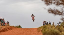Another wonderful image from Sally's Finke Desert Race coverage. Image Credit: SWAP Images/Sally May.