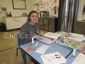 Sara Finau at Lachlan Childrens Service