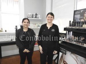 Laylah Elhussan helping Gabbie Moran at Body Express