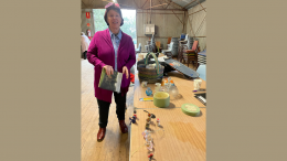 Lesley Crook was the special guest speaker at last month's Kiacatoo CWA meeting. She spoke on her travels overseas. Which was enjoyed by all members in attendance. Image Credit: Patricia Phillips.