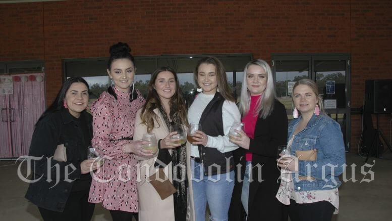 Courtney Escreet, Jade Lewis, Tristin Mooney, Natasha Ambrose, Kelsey Ward and Jessie Haydon.