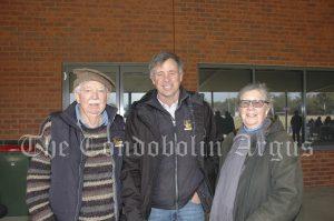 John Wrigley, Andrew Wrigley and Pauline Wrigley