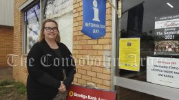 Hannah Deeves has recently began working as a Customer Service Agent for Centrelink and Bendigo Bank and Administration for Western Plains Regional Development. Image Credit: Lucy Kirk.