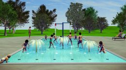 An artist's impression of what the Toddler Pool in Condobolin will look like. Image Credit: Lachlan Shire Council.
